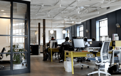 Choosing the right commercial office colors can make a huge impact.